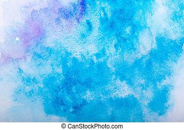 aquarela, coloridos, fundo