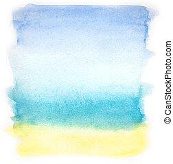 aquarela, coloridos