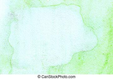 aquarela, desenhado, abstratos, fundo, mão