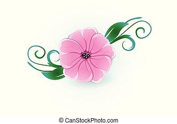 aquarela, flor
