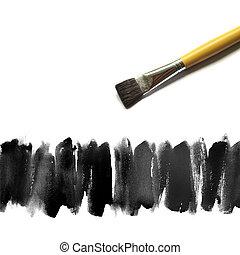 aquarela, pintado, abstratos, fundo, mão