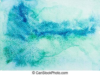 aquarela, textura