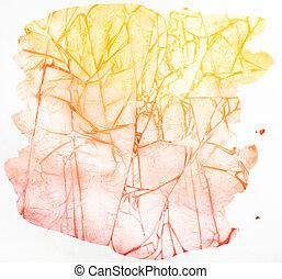 aquarell, abstrakt, hintergrund
