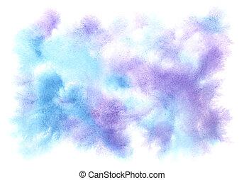 aquarell, hintergrund
