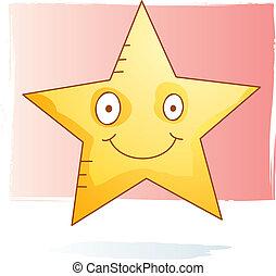 aquarelle, étoile