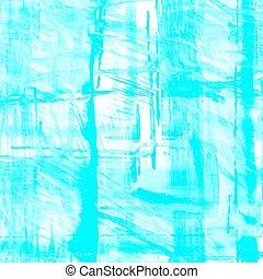 aquarelle, arrière-plan., turquoise, vecteur, splash.