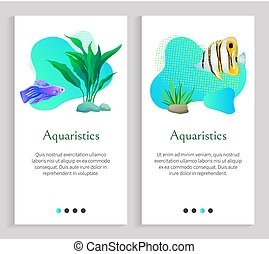 Aquaristics Marine Life, Fish and Flora Seaweed -...