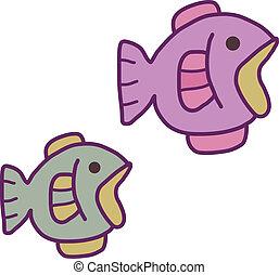 aquarium, fish