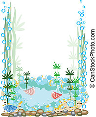Aquarium frame