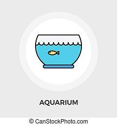 Aquarium Vector Flat Icon