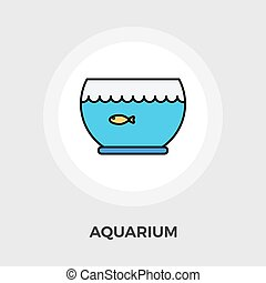 Aquarium Vector Flat Icon