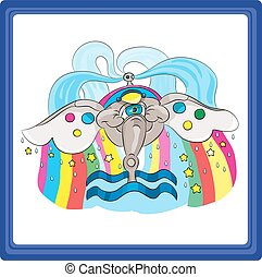 Aquarius - the eleventh sign of the zodiac horoscope.