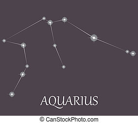Aquarius Zodiac sign.