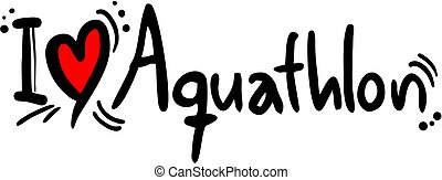 Aquathlon love