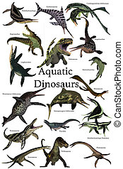 Aquatic Dinosaurs