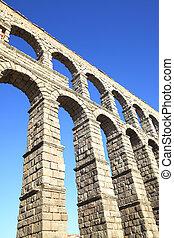 Aqueduct in Segovia