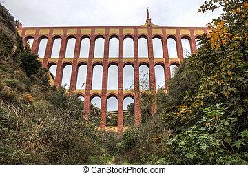 Aqueduct Puente del Aguila, Nerja, Spain