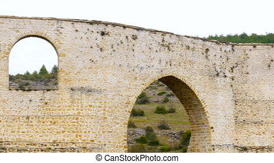 """aqueduct, roman style water arch, safranbolu, turkey"""