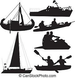 aqueous mode of transport boats boats ships