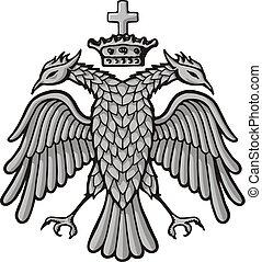 aquila, corona, bizantino