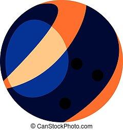 arène, balle, couleur, utilisé, dessin, clair, vecteur, jeux, illustration, bowling, ou