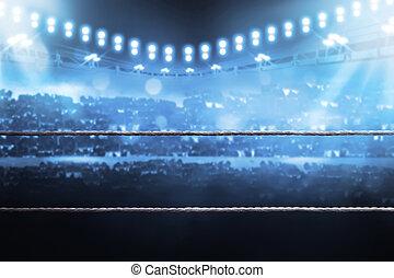 arène, boxe