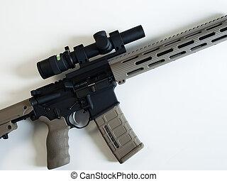 AR-15 Assault Rifle - Standard US Army AR-15 Assault rifle...