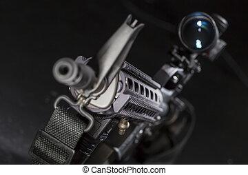 AR-15 Gun