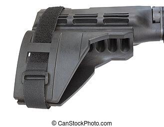 AR-15 handgun stock - Polymer stock that is short enough to...