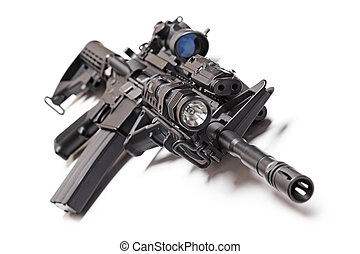 AR-15 tactical carbine - AR-15 (M4A1) tactical carbine with...