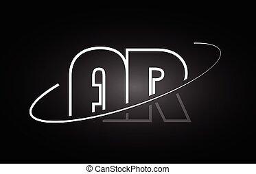 A R Letter Logo Design Creative Ar Letters Icon A R Letter Logo