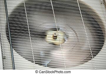 ar condicionado, ventilador