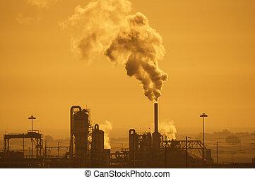 ar, poluição industrial