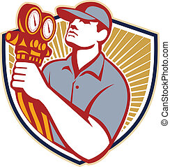 ar, refrigeração, escudo, mecânico, condicionamento