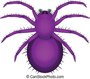 Araña, caricatura