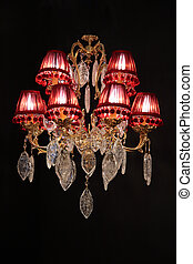 araña de luces, lujo
