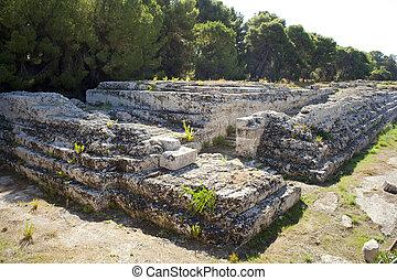 Ara di Ierone II, Syracuse - Ara di Ierone II, Neapolis in...