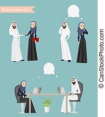 Arab Business People Meeting