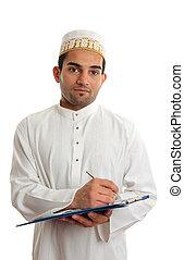 Arab businessman - Arab mixed race business man wearing...