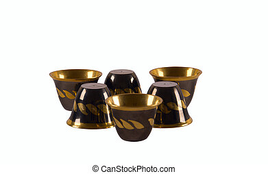 Arab coffee cups