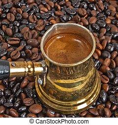 Arab coffee pot