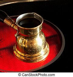 Arab cooper coffee pot