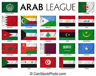 Arab League Arab member countries.