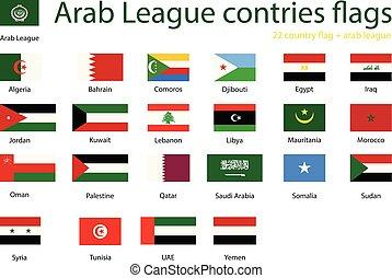 Arab League member states - Member states of Arab League, ...