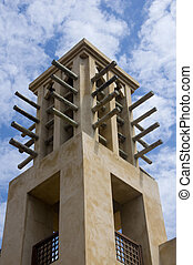 Arab wind tower