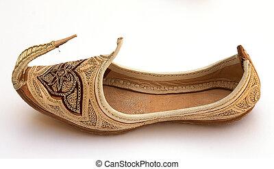 arabe, chaussure