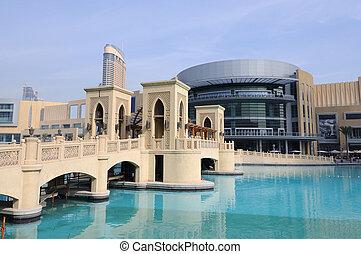 arabe, dubai, uni, emirats, centre commercial
