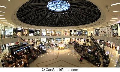 arabe, marina, centre commercial, uni, emirats
