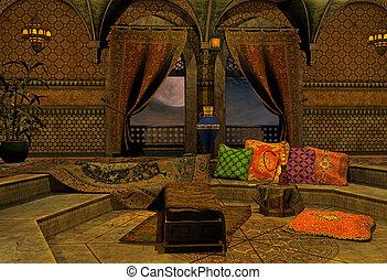 arabe, nuit