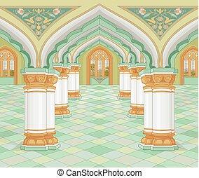 arabe, palais